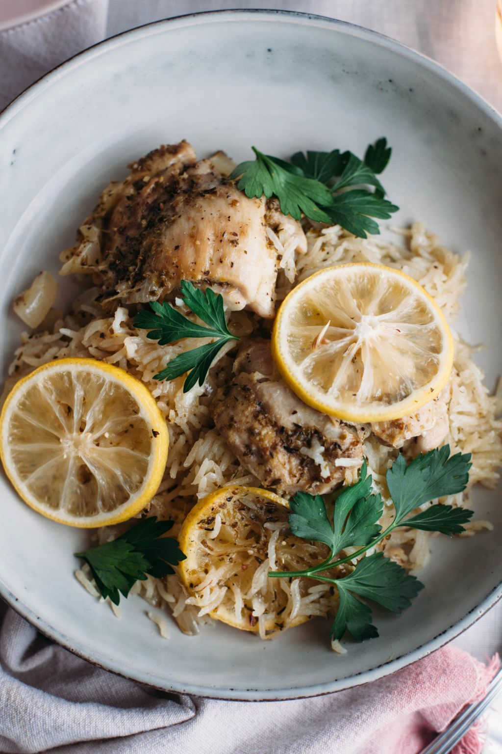 One Pot Lemon Chicken and Rice - Tastemaker Blog