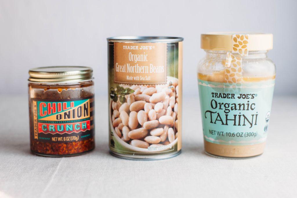 Trader Joe's Tahini Broccoli Farro Salad - Tastemaker Blog