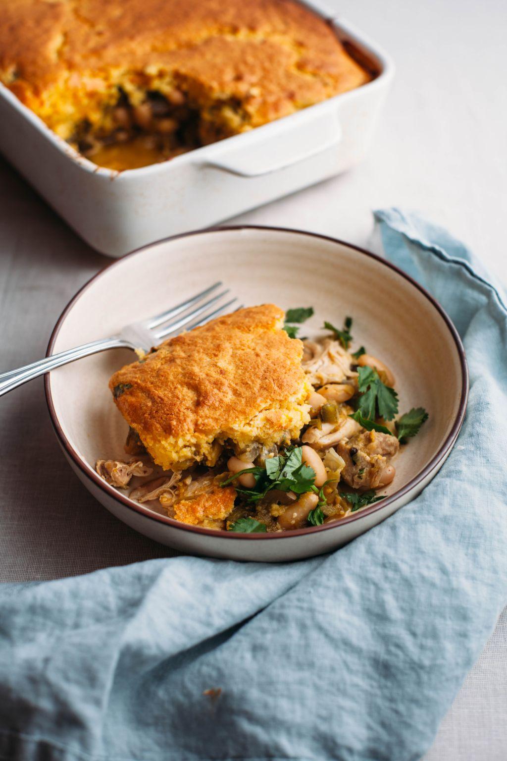 Chicken Tamale Pie - Tastemaker Blog