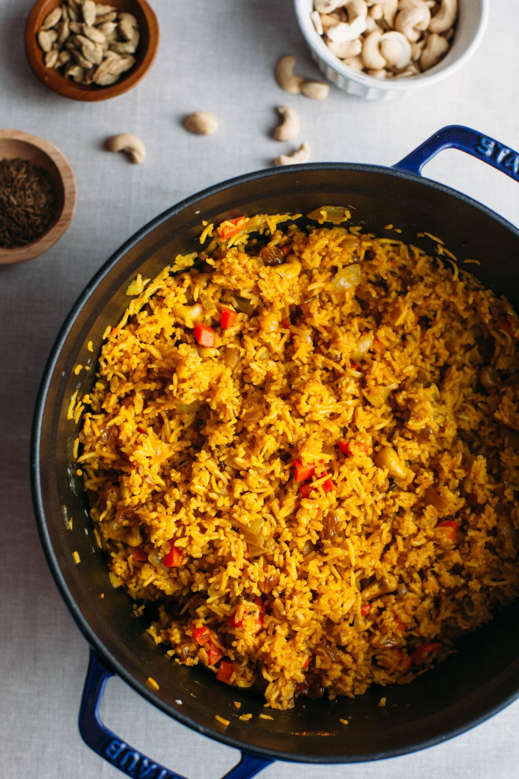 Fragrant Indian Rice Pilaf - Tastemaker Blog