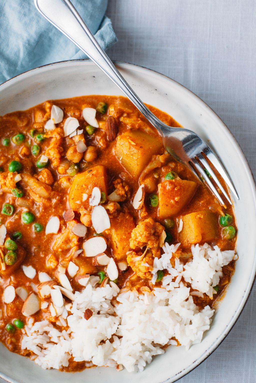 Indian Butter Chickpeas and Vegetables - Tastemaker Blog