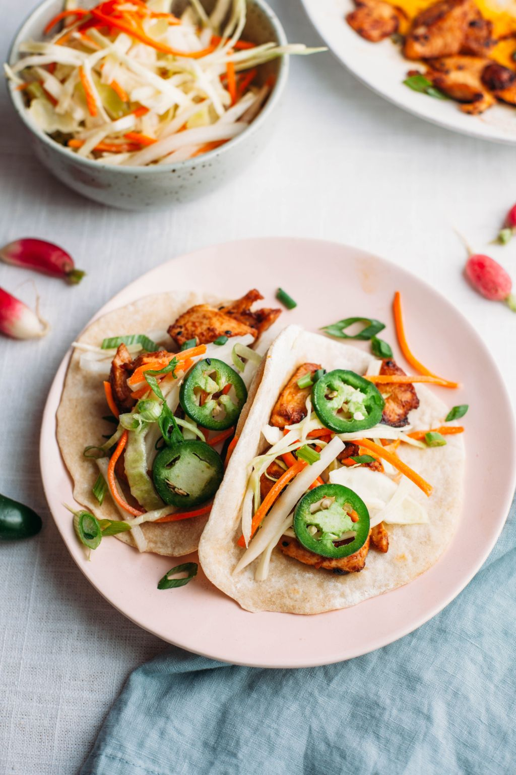 Bulgogi Tacos with Daikon Slaw - Tastemaker Blog