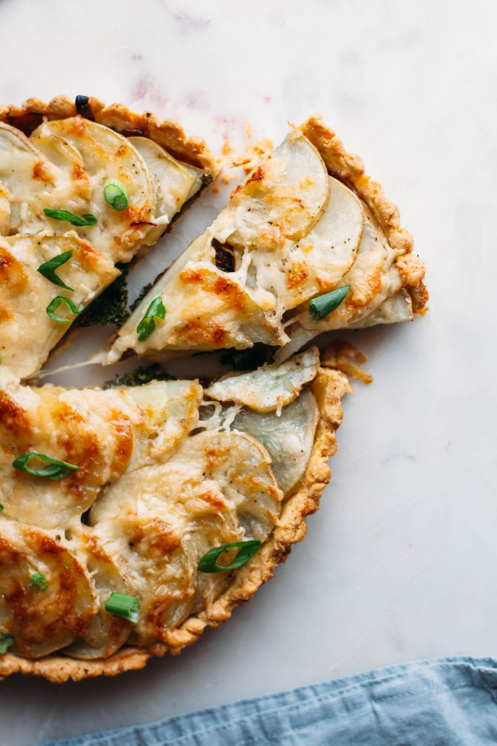 Potato, Kale, and Gruyere Tart - Tastemaker Blog