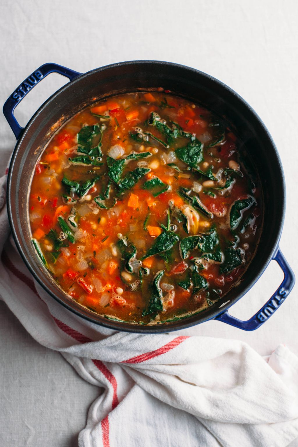 Tuscan White Bean Soup - Tastemaker Blog
