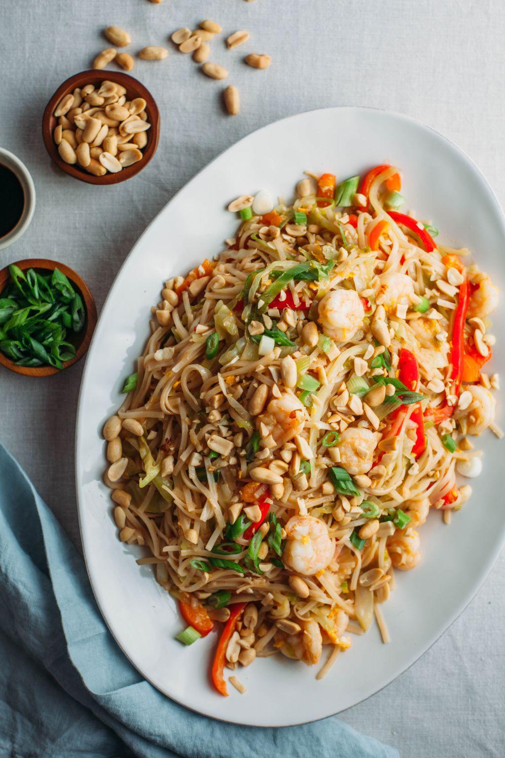 Easy Shrimp Pad Thai - Tastemaker Blog