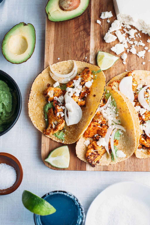 Roasted Cauliflower Tacos - Tastemaker Blog
