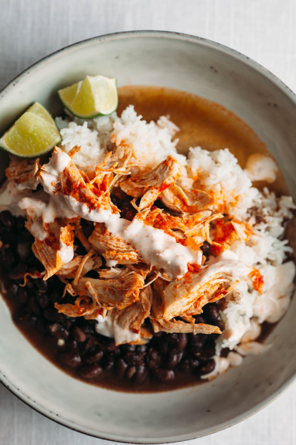 Instant Pot Guajillo Chicken with Rice and Black Beans - Tastemaker Blog