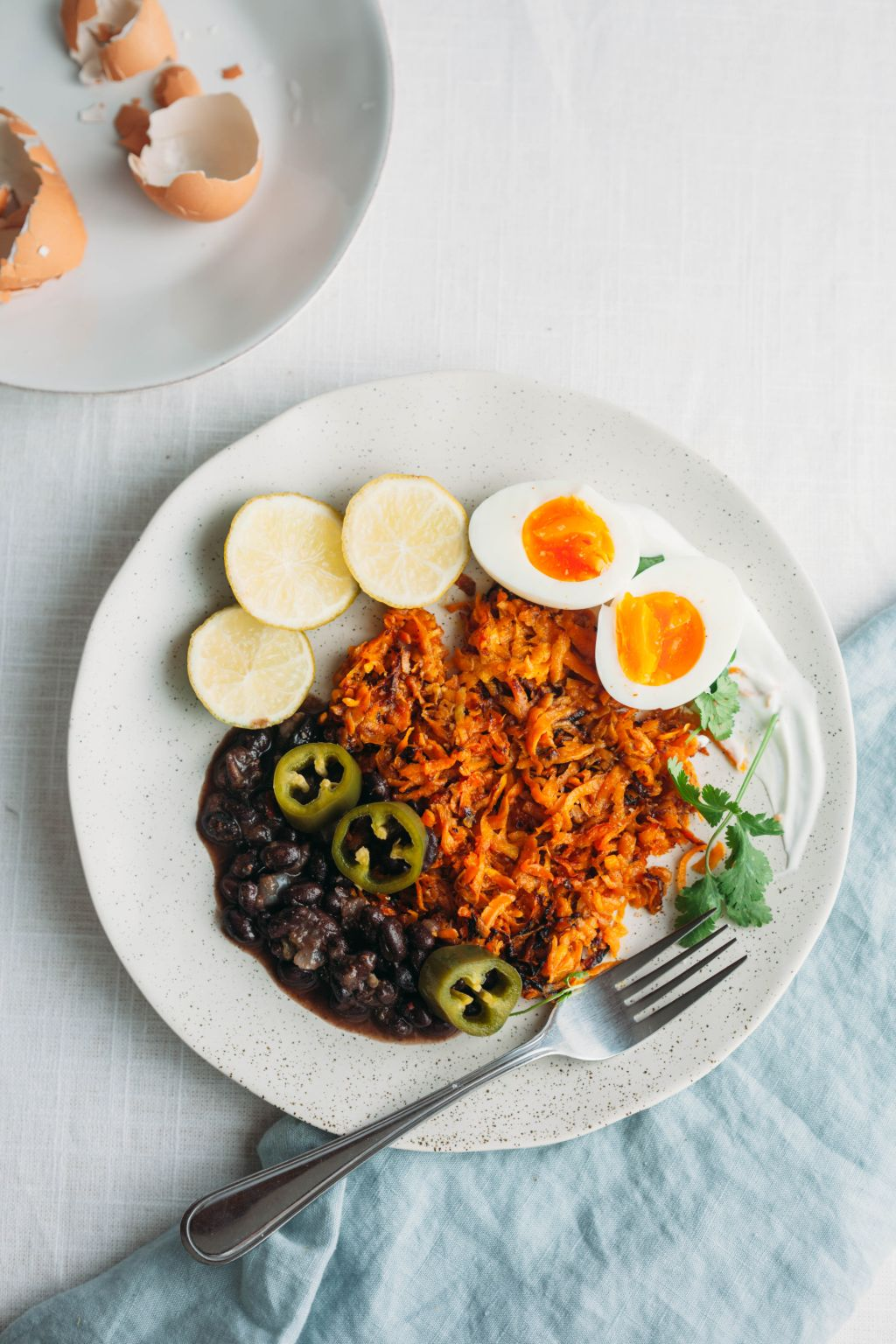 Sweet Potato Hashbrowns With Anything You Have On Hand - Tastemaker Blog