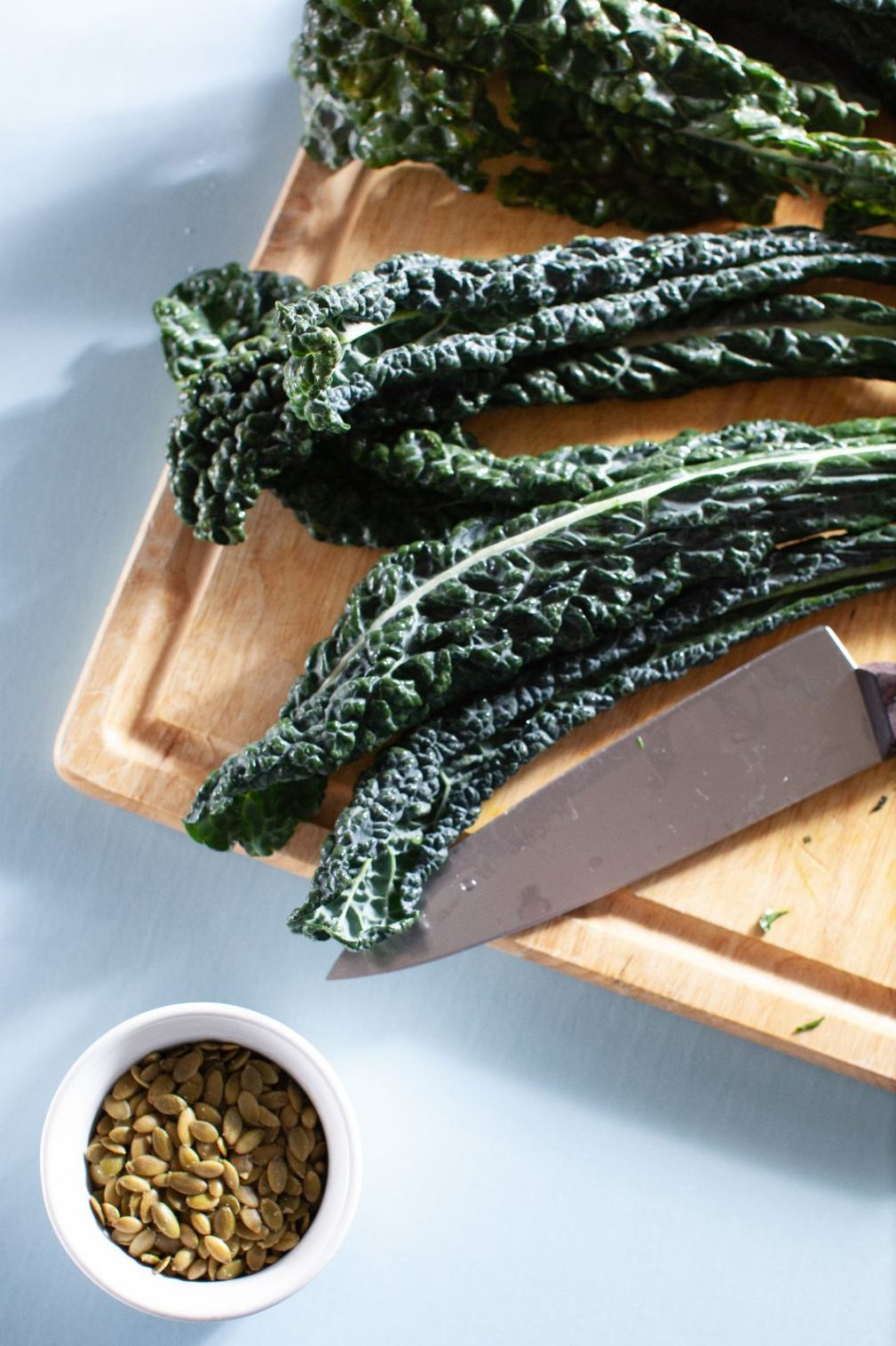 Raw and Roasted Kale Salad - Tastemaker Blog