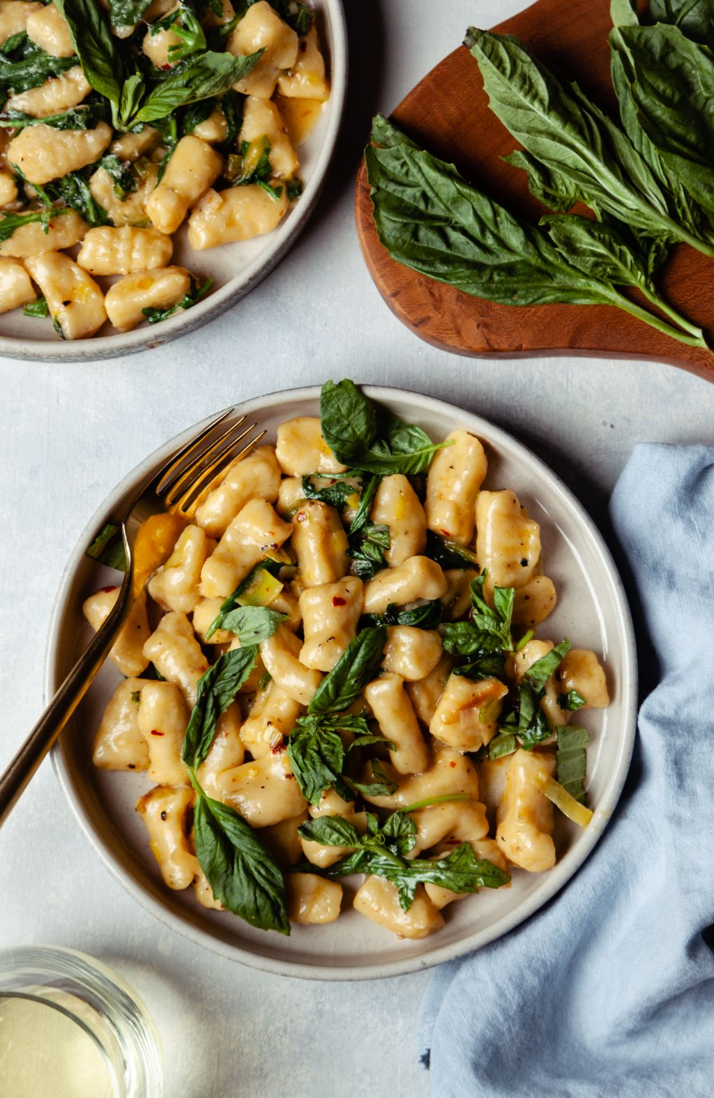 Sourdough Gnocchi with Buttery Leek Broth - Tastemaker Blog
